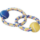 Zanies Pastel Rope with Tennis Balls Dog Toy