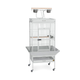 Prevue 3152 Select Signature Parrot Cage Pewter