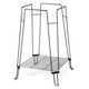Prevue Clean Life Bird Cage Stand Black