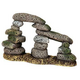 Blue Ribbon Twin Pebble Archway Ornament
