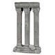 Blue Ribbon 3 Column Ruins Ornament