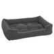 Jax and Bones Blue Tweed Sleeper Dog Bed X-Large