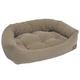 Jax and Bones Brown Tweed Napper Dog Bed X-Large