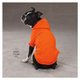 ZZ Basic Dog Hoodie SM RED