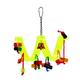 Prevue Acrylic Ribbon Curl Bird Toy