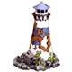 Blue Ribbon Lighthouse Ruin Tank Ornament