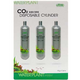 Ista Disposable CO2 Replacement Cartridges 3pk
