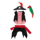 Zack and Zoey Pirate Tails Dog Costume Small