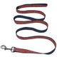 NCAA Auburn Tigers Orange and Blue Dog Leash