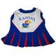 NCAA Kansas Jayhawks Cheerleader Dog Dress