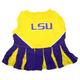 NCAA LSU Tigers Cheerleader Dog Dress Medium