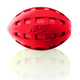Nerf Dog Crinkle Football Dog Toy Red