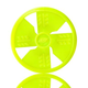 Nerf Dog TPR Flying Disc Dog Toy Green