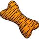 Zanies Wild Style Bone Dog Toy Tiger