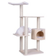 Armarkat 54 inch Premium Solid Wood Cat Tree Tower