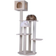 Armarkat 69 inch Premium Solid Wood Cat Tree Tower