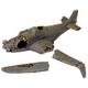 Deep Blue DecoConcepts Sunken WWII Airplane 24in