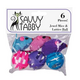 ST Jewel Mice and Lattice Balls 6Pk Cat Toy