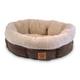 Precision Pet Round Coffee Liqueur Dog Bed