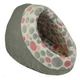 Precision Pet Hide N Seek Pink Spot/Gray Dog Bed