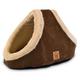 Precision Pet Hide N Seek Coffee Liqueur Dog Bed
