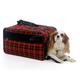 Bark n Bag Barkwell Plaid Classic Pet Carrier LG