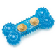 FUNdamentals Nibbler Bone Dog Toy Raspberry