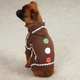 Casual Canine Gingerbread Dog Pajamas MD