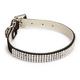 ESC Velvet Rhinestone Dog Collar 14-18 Black