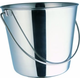 Indipets Heavy Duty Stainless Steel Dog Pail 9 QT