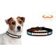 NFL Carolina Panthers Leather Dog Collar LG