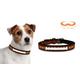 NFL Cleveland Browns Leather Dog Collar LG
