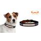NFL Denver Broncos Leather Dog Collar LG