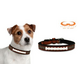 NFL New Orleans Saints Leather Dog Collar LG