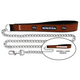 NFL Baltimore Ravens Leather Chain Leash LG