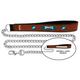 NFL Philadelphia Eagles Leather Chain Leash LG
