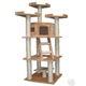 Go Pet Club 78 inch F2029 Beige Cat Tree Furniture