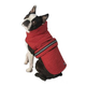 Petrageous Madison Quilted Dog Parka Small Red