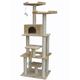 Go Pet Club 76 inch F2070 Beige Cat Tree Furniture