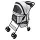 Go Pet Club Beige Pet Stroller