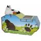 Go Pet CP007 House Flower Cat Scratching Board
