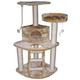 Go Pet Club 48 inch F08 Beige Cat Tree Furniture
