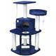 Go Pet Club 48 inch F10 Blue Cat Tree Furniture