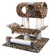 Go Pet Club 28 inch F12 Leopard Cat Tree