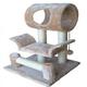 Go Pet Club 28 inch F13 Beige Cat Tree Furniture