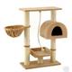 Go Pet Club 36 inch F16 Beige Cat Tree Furniture