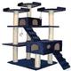 Go Pet Club 72 inch F2040 Blue Cat Tree Furniture