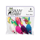 Savvy Tabby Furry Mice 4 Pk Cat Toy