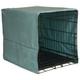 Pet Dreams Sea Foam Plush Crate Cover X-Large