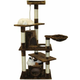 Go Pet Club 62 inch Brown Cat Tree House Furniture
